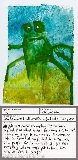 Wax creature 6: Ah