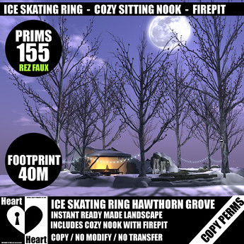ICE SKATING RING - HAWTORN GROVE-N1, 499 lindens by Cherokeeh Asteria