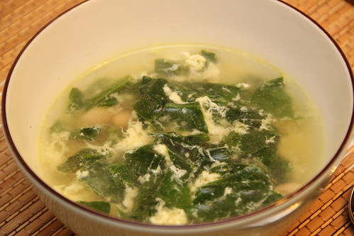"Italian Spinach and Egg ""Stracciatella"" Soup"