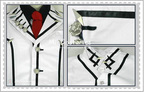 Vampire Knight Men Night Department School Uniform Cosplay Costume1