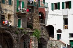 Cinque Terre (webeagle12) Tags: park vacation italy house fish eye nikon europe riviera italia village liguria national tiny terre mm nikkor cinque riomaggiore d90 1685 thefivelands