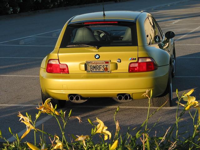 2001 Z3 M Coupe | Phoenix Yellow | Gray/Black