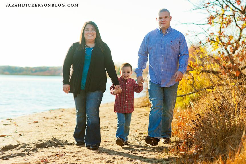 Shawnee Mission Park family portraits