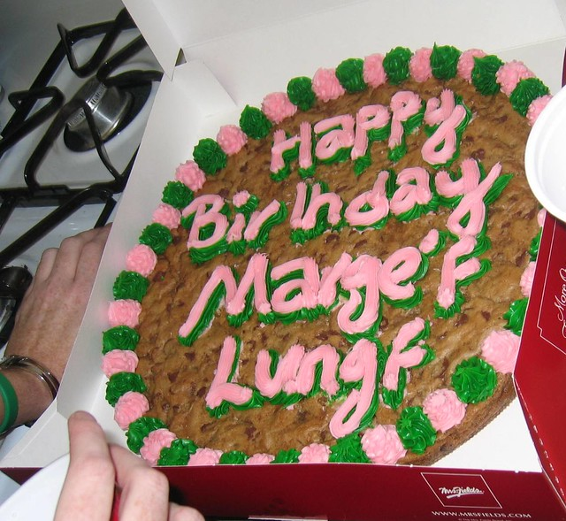 Happy Birthday Marge's Lungs!