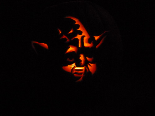 Yoda Pumpkin by Chez VH