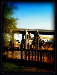 Happy Fence Friday! (Chris C. Crowley- catching up on editing- be back ) Tags: park bridge fence fun scenic whimsical childrensplayground chriscrowley celticsong22 happyfencefriday playgroundinnewsmyrnabeachflorida