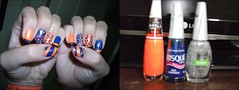 *-* (biiaifrj) Tags: azul neon laranja lindo bolinhas impala risque roxo brilho listras maravilhoso esmalte colorama flocado
