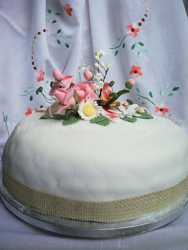 Flower cake My Birthday 8