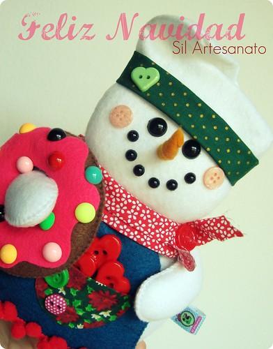 Feliz Navidad by Sil Artesanato