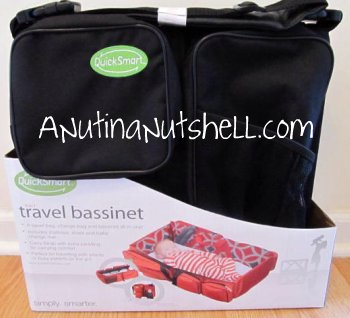 Quicksmart 3 In 1 Travel Bassinet Giveaway Holiday Gift Guide Pick Eat Move Make