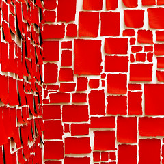 messages in red (barbera*) Tags: red white london corner paper notes walls messages barbera 0093b
