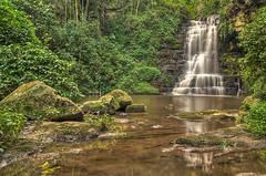 Eshowe Fall C (Gavin Fordham) Tags: eshowe southafrica waterfall landscape hdr nikon d2x 9xp blur longexposure river lush photomatix gavinfordham