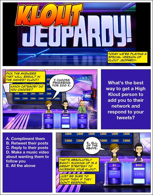 Klout Jeopardy
