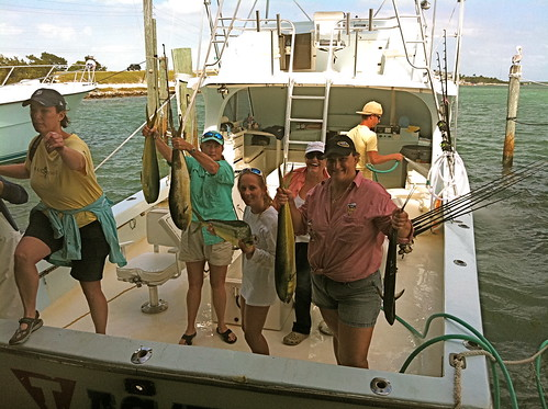 Ladies, Let's Go Fishing Weekend Islamorada mahi whale harbour