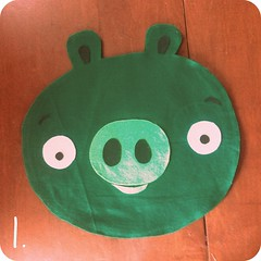 angry pig costume