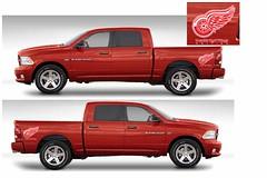 RWRAM (Brandl Motors) Tags: new red cloud 3 hockey car minnesota st truck work wagon nhl one three official wings long power little howard cab 4 detroit