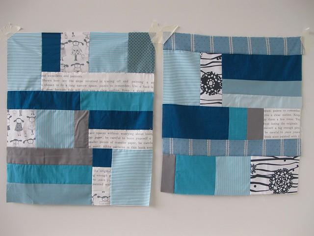 Capsule Quilts - Blue