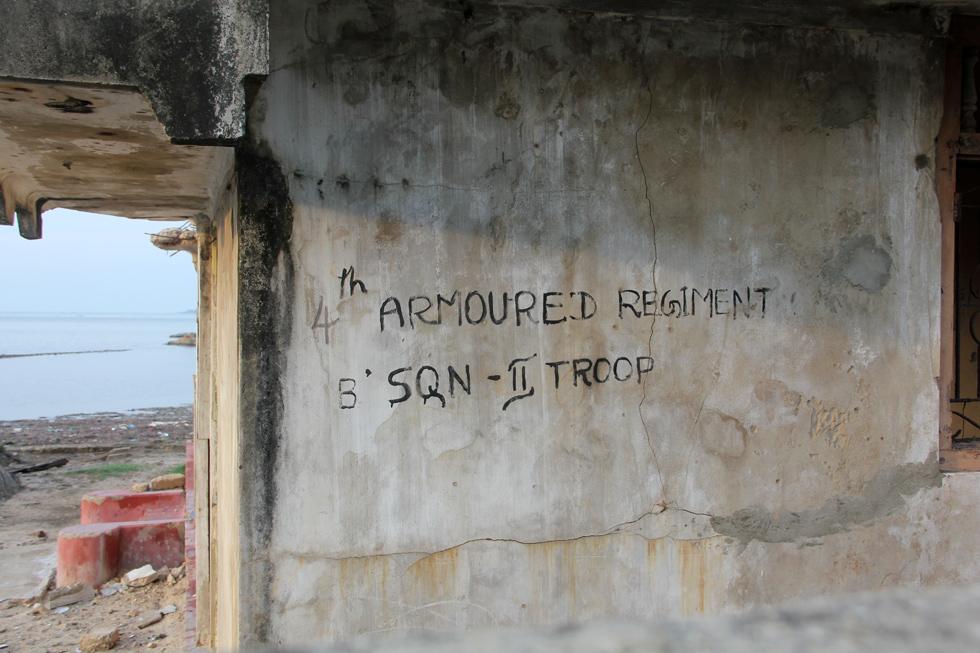 Bunker in Jaffna, Sri Lanka