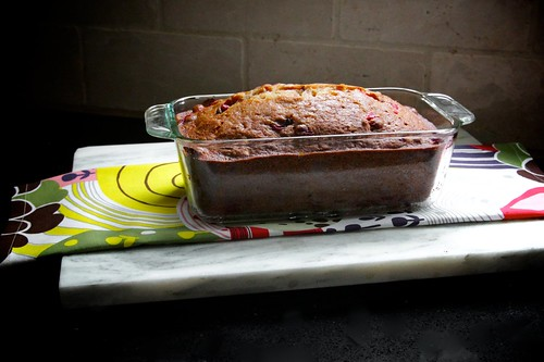 pear cranberry walnut bread
