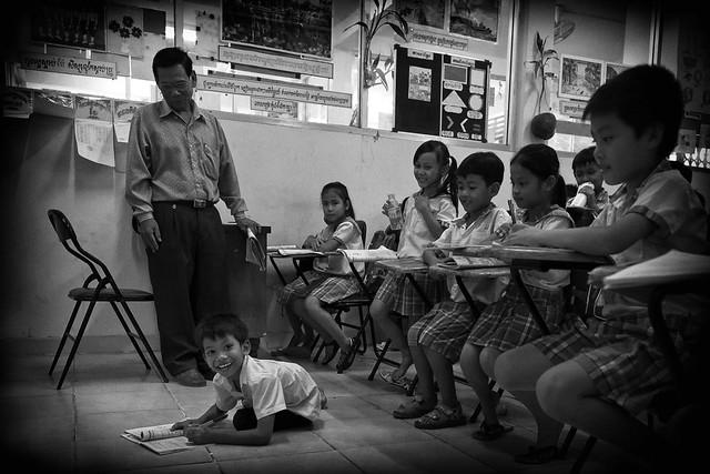 Steung Meanchey, NORTHLINE SCHOOL - discipline