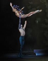 The Firebird - Ksenia Ovsyanick; lifted by Army Captain Junor Souza (DanceTabs) Tags: ballet firebird coliseum enb balletrusses englishnationalballet