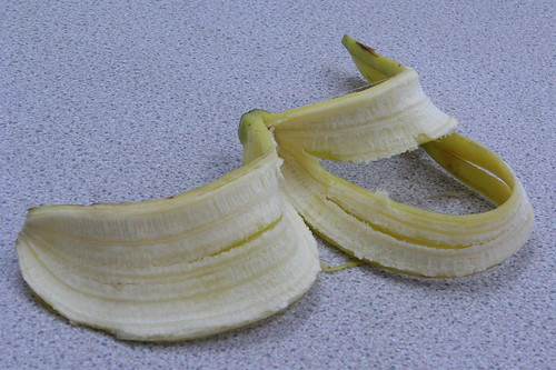 banana skin by richard_north, on Flickr