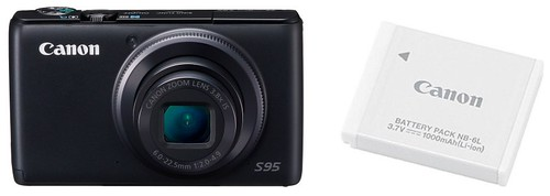 Canon S95 plus NB-6L – Battery Life