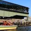 amsterdam architecture seen from the water (douweplukkel) Tags: bridge water amsterdam architecture swingbridge ij mimoa stadsarchief westerdok 500x500 pidebruijn stadsarchiefamsterdam ciearchitects turntrackbridge