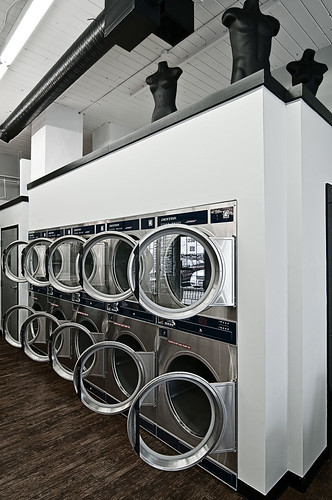 Laundry Valet dryer stacks by petetaylor
