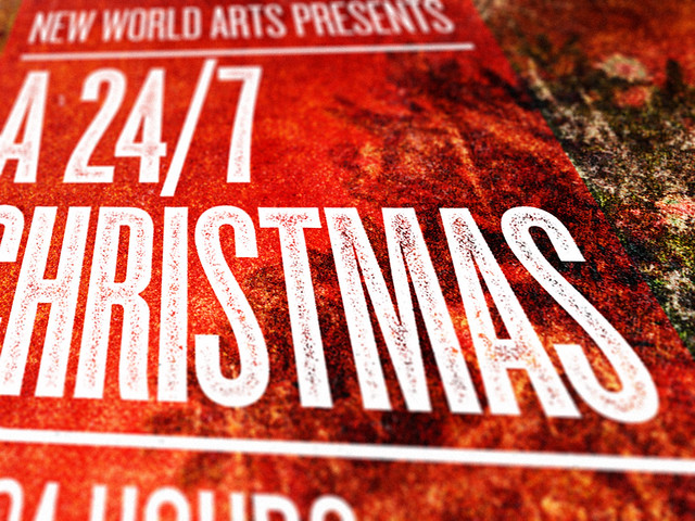 "SAoS - New World Arts' A 24/7 Christmas Festival poster - Revised version - Detail • <a style=""font-size:0.8em;"" href=""http://www.flickr.com/photos/35017456@N03/6215172139/"" target=""_blank"">View on Flickr</a>"