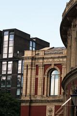 Reflect (Terry Moran aka Tezzer57) Tags: blue sky london reflections redbrick alberthall londonist