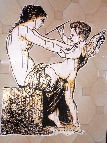 la vogli mi assale... devo dipingere!! by STENCILNOIRE