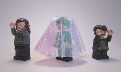 Hogwarts Castle - Cloak of Invisibility