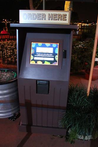 Cheese kiosk