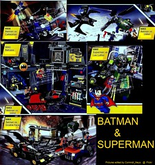 Batman & Superman Sets (Commdr_Neyo ) Tags: