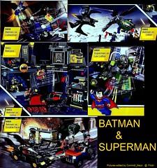 Batman & Superman Sets (Commdr_Neyo ☮) Tags: