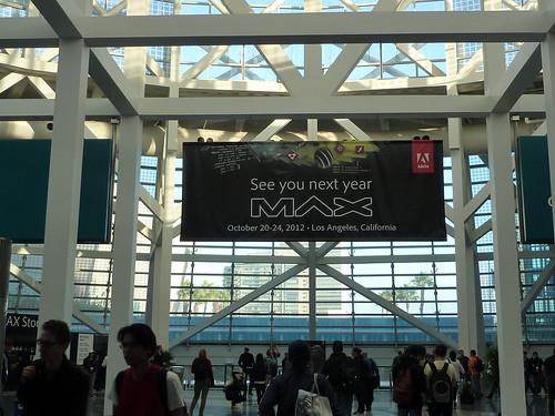 See you at Adobe MAX 2012
