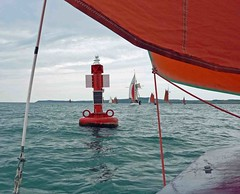 "Rounding the first mark • <a style=""font-size:0.8em;"" href=""http://www.flickr.com/photos/36398778@N08/6222184439/"" target=""_blank"">View on Flickr</a>"