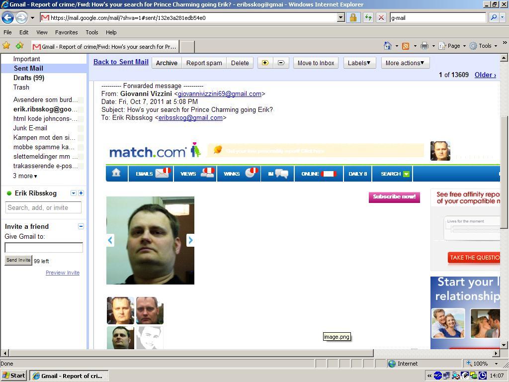 fake match com