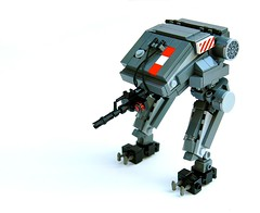 RAMM-500 U.D.U. (Cam M.) Tags: boss black feet cool lego awesome epic defense mecha mech unit unmanned ramm