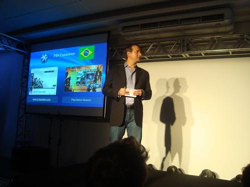 Coletiva de PlayStation no Brasil Game Show 2011