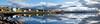Búðardalur panorama (SteinaMatt) Tags: sky panorama reflection clouds buildings matt iceland nikon september ísland 2011 steinunn búðardalur d80 steina vesturland matthíasdóttir