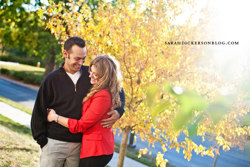 Lawrence Kansas engagement photography