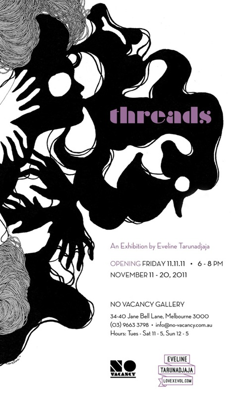 Threads: an exhibition by Eveline Tarunadjaja
