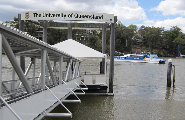 University of Queensland City Cat wharf