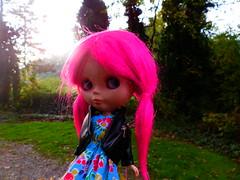 Neon hair!