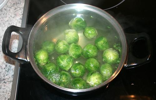 09 - Rosenkohl kochen