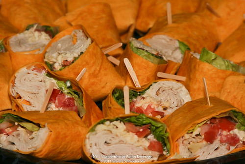 Turkey Wraps - Oktoberfest  Fest at Exton Beverage