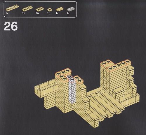 レゴ 落水荘 マニュアル