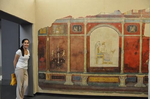 Frescoes from Villa of the Farnesina in Palazzo Massimo